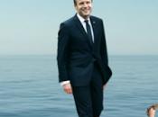 Macron marche l'eau Economist