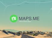Découvrez monde Offline avec Maps.me
