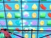 plus grand ecran tactile monde pour jouer Candy Crush