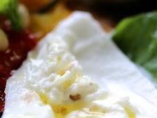 Légumes d'été four burrata