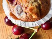 Muffin Cerise Chocolat Blanc Cherry White Chocolate