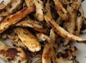 Aiguillettes poulet marinées Plancha