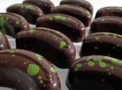 Chocolats fins caramel salé pistache