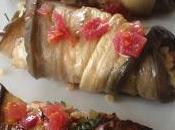 Cannellonis d'aubergine boulgour fruits secs