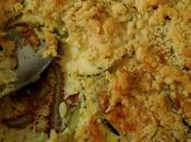 Gâteau crumble courgette