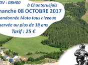 Rando moto Chanteruéjols (48), dimanche octobre 2017