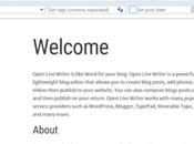 Open Live Writer passe version 0.6.2.0