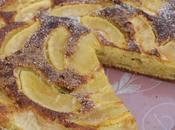 Gâteau mascarpon pomme