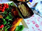 Fromage chèvre tofu, charcuterie seitan légumes saison