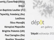 Exposition collective Dépôt gallery Athènes