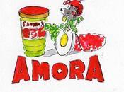 Memphis fille pub. amour goût Amora