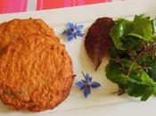Galettes pommes terre pois chiches (Vegan)