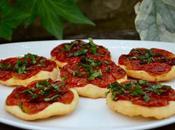 Tartelettes tatin tomates cerises