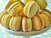 Macaron menthe citron
