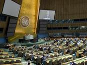 Première Assemblée Générale l'ONU pour Donald Trump Emmanuel Macron