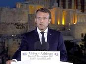 "Emmanuel Macron au-delà ""fainéants"", refondation l'Europe"