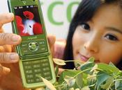 Téléphone Samsung écologique.