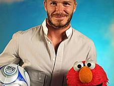 """David Beckham dans """"Sesame Street"""""""