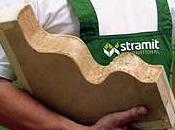Stramit panneau paille compressée pour cloisons planchers