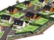 lotissement maisons économes énergie cours construction Brest