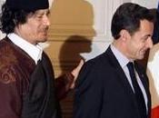 colonel kadhafi quitté France