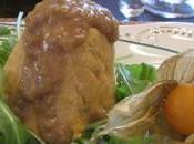 Foie gras mangue Menu Noël