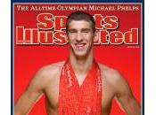Photo Michael Phelps Médailles d'Or Pékin Sports Illustrated