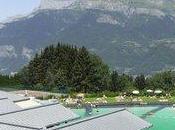 baignade écologique face Mont-Blanc