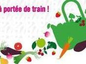 paniers légumes frais dans gares SNCF