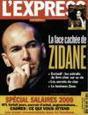 premières pages autorisée Zinedine Zidane
