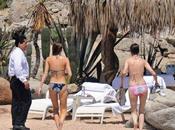 Lindsay Lohan Samantha Ronson bikini plages mexicaines