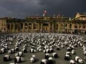 France 1600 pandas investissent Trocadéro Paris