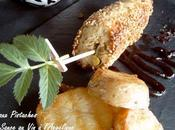 Veau pistaches parfumé truffe sauce fronsac l'Angélique