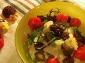 Salade morue deux tomates