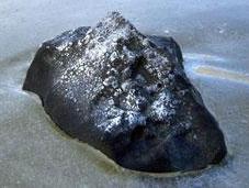 Fragments retrouvés météorite canadienne novembre