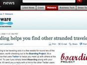 "article ""Boarding Project"" dans CNET News"