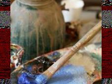 bleu pour créativité, rouge concentration