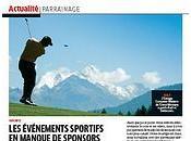 BILAN: crise touche événements sportifs perdent sponsors