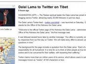 INTOX: Dalaï Lama réseau social Twitter
