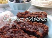 GOURMANDISE Gâteau coulant chocolat noir tahin (sans oeufs)