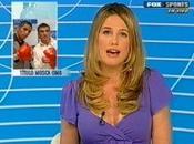 Journaliste sportive trop sexy Alina Moine