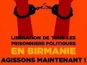 Libération prisonniers politiques Birmanie