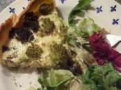Tarte gouda cumin/romanesco brocolis