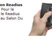 Readius Polymer Vision présenté Salon livre 2009