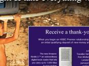 banque HSBC offre Kindle nouveaux clients