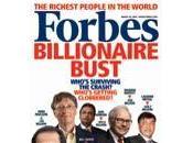 Selon Forbes, milliardaires quasiment divisé leur fortune deux