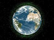 L'ISS menacée débris satellite