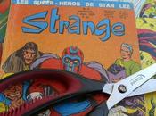 Découper vieux Strange