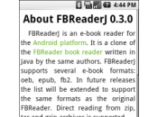 Feedbooks Android Simple, solutions existent