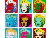 grand Palais tire portrait d'Andy Warhol